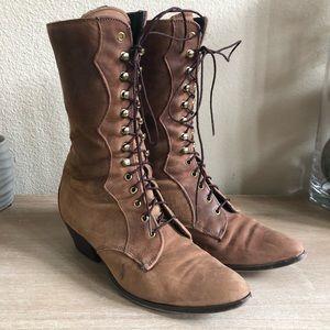 Laredo vintage Victorian suede boots